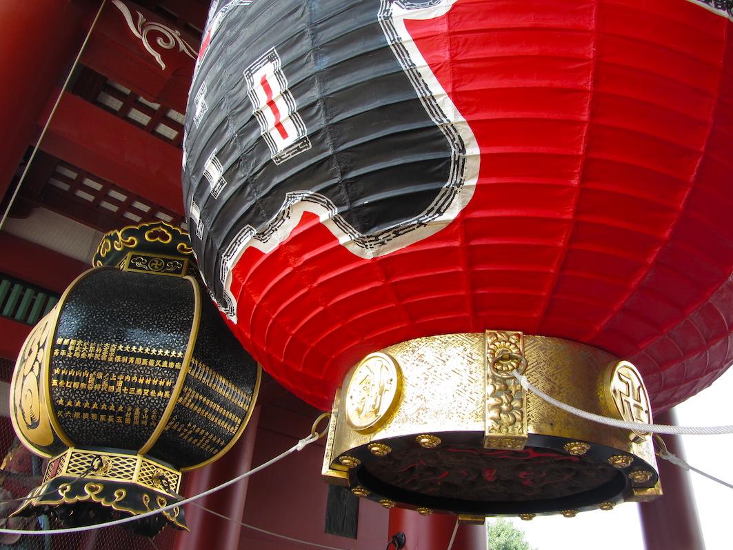 Tokyo-Kaminarimon-lantern