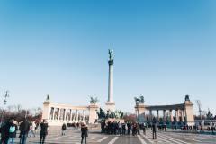 Budapest-piazza-degli-eroi