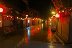 Miyajima-strada-notturna