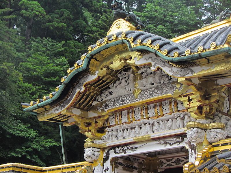 Nikko-Toshogu-tetto